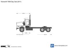Kenworth T659 Day Cab