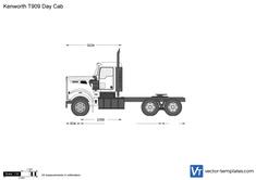 Kenworth T909 Day Cab