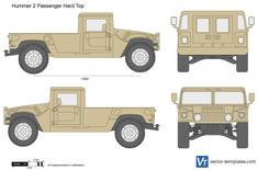 Hummer 2 Passenger Hard Top