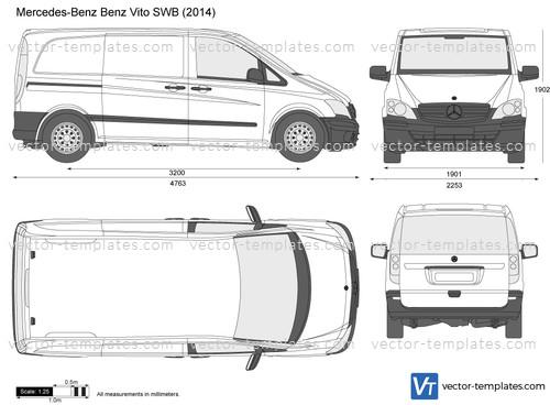 Templates Cars Mercedes Benz Mercedes Benz Vito Swb