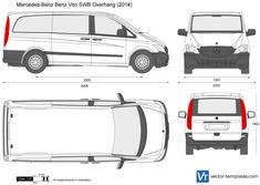 Mercedes-Benz Vito SWB Overhang
