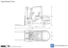 Toyota Geneo 3.0 ton