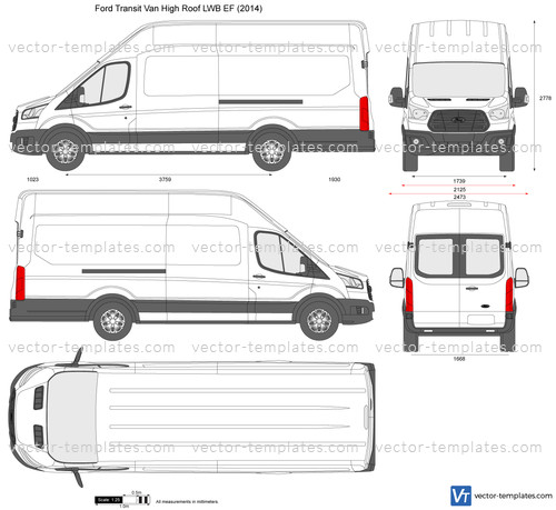 Ford Transit Van High Roof LWB EF