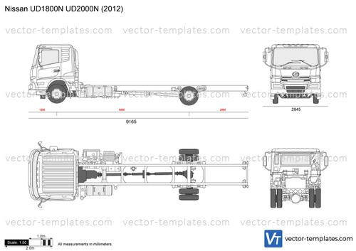 Nissan UD1800N UD2000N