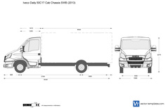 Iveco Daily 50C17 Cab Chassis SWB
