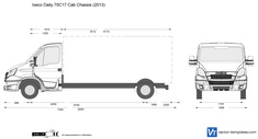 Iveco Daily 70C17 Cab Chassis