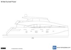 90 feet Sunreef Power