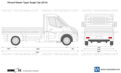 Renault Master Tipper Single Cab