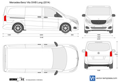 Mercedes-Benz Vito SWB Long W447