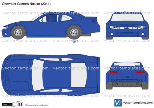Templates - Cars - Chevrolet - Chevrolet Camaro Nascar
