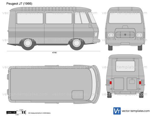 templates cars peugeot peugeot j7. Black Bedroom Furniture Sets. Home Design Ideas