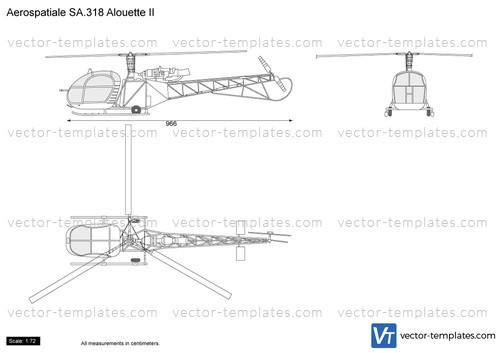 Aerospatiale SA.318 Alouette II