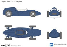 Cooper Climax T51 F1 GP