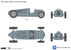 Auto Union Type C 6L V16 GP