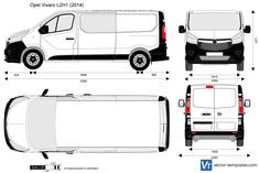 Opel Vivaro L2H1 Combi