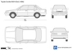 Toyota Corolla E90 4-Door