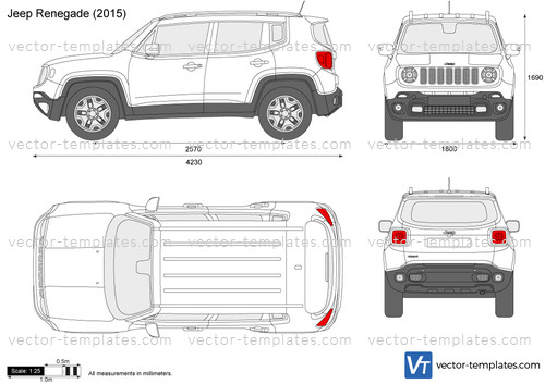 Templates Cars Jeep Jeep Renegade
