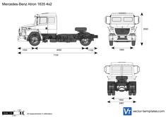 Mercedes-Benz Atron 1635 4x2