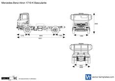 Mercedes-Benz Atron 1719 K Basculante