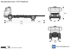 Mercedes-Benz Atron 1719 P Plataforma