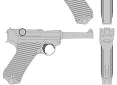 Luger P08 - Pistol Parabellum 1908