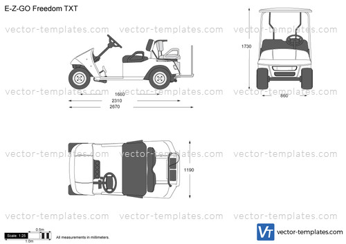 Templates - Cars - Various Cars - E-Z-GO Freedom TXT
