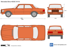 Mercedes-Benz 450SE W116