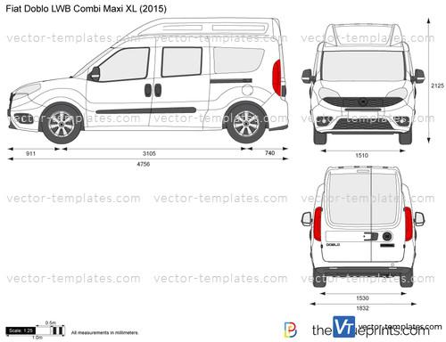 fiat doblo cargo combi maxi xl the fiat car