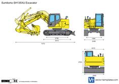 Sumitomo SH135XU Excavator