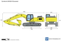 Sumitomo SH300-5 Excavator
