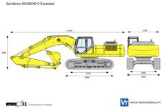 Sumitomo SH350HD-5 Excavator