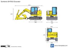 Sumitomo SH75XU Excavator