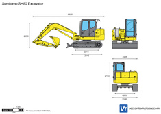 Sumitomo SH80 Excavator