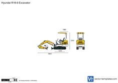 Hyundai R16-9 Excavator
