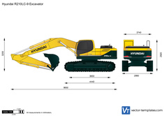 Hyundai R210LC-9 Excavator