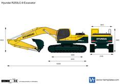 Hyundai R250LC-9 Excavator