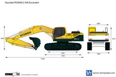 Hyundai R300NLC-9A Excavator
