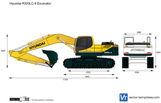 Hyundai R320LC-9 Excavator