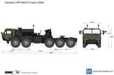 Oshkosh LVSR MKR16 Tractor