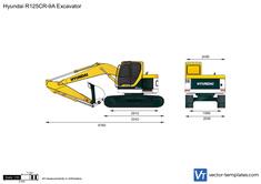 Hyundai R125CR-9A Excavator