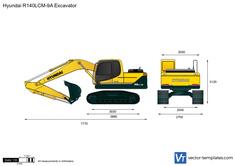 Hyundai R140LCM-9A Excavator