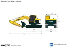 Hyundai R145CR-9A Excavator