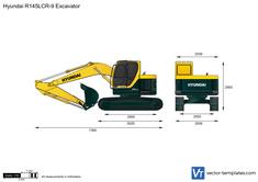 Hyundai R145LCR-9 Excavator