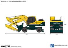Hyundai R170W-9 Wheeled Excavator