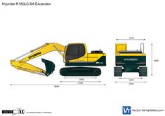 Hyundai R180LC-9A Excavator