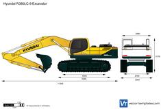 Hyundai R380LC-9 Excavator