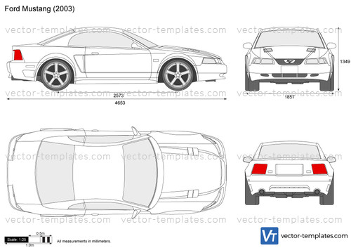 Templates Cars Ford Ford Mustang