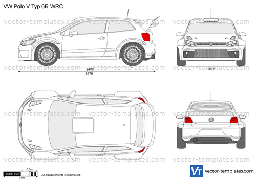 Volkswagen Polo V Typ 6R WRC