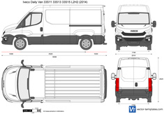 Iveco Daily Van 33S11 33S13 33S15 L2H2