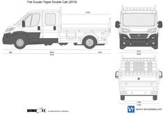 Fiat Ducato Tipper Double Cab